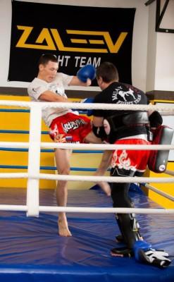 тайский бокс индивидуальные занятия в Москве 1