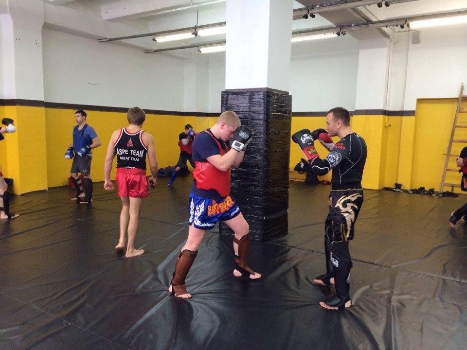 Тайский бокс в Москве - начинающим