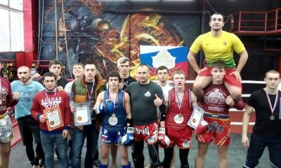 Я с Бойцами БУЛАТ(РОССИЯ) на ринге 28.01.17