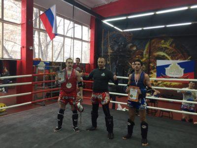 Я с Магой Муртазалиевым и Романом Кареловым