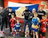 Победа спортсменов «БУЛАТ» (РОССИЯ) на 9-м Ежегодном Турнире по Тайскому боксу в Переделкино, 21.02.2021