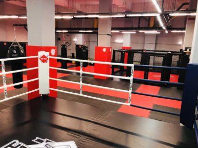 Ринг на подиуме